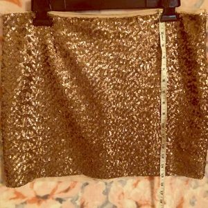 GAP sequined mini skirt
